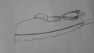 Elbåtskiss